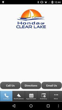 Honda of Clear Lake poster