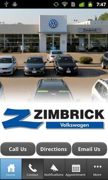 Zimbrick Volkswagen apk screenshot