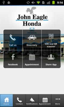 John Eagle Honda of Dallas poster