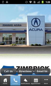 Zimbrick Acura apk screenshot