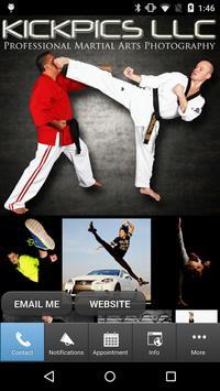 KICKPICS Martial Arts Photos poster