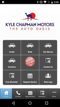 Kyle Chapman Motors poster