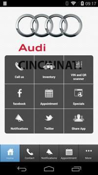 Audi Cincinnati East poster