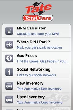 Tate Totalcare apk screenshot