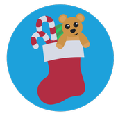 Christmas decoration icon