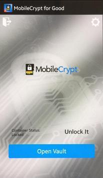 MobileCrypt for Good apk screenshot