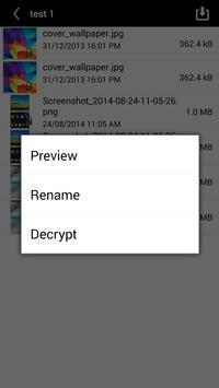 MobileCrypt apk screenshot