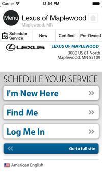 Lexus of Maplewood apk screenshot