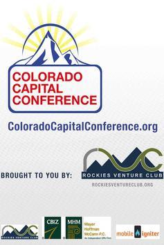 Colorado Capital Conference poster