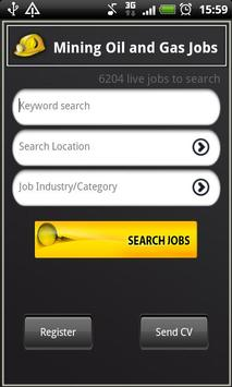 Mining Oil and Gas Jobs poster