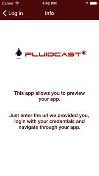 FluidCast Mobile Publisher apk screenshot