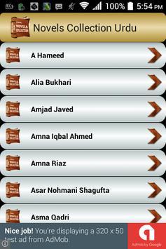 Urdu Novels Collection apk screenshot