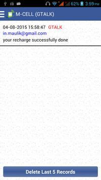M-CELL Recharge apk screenshot