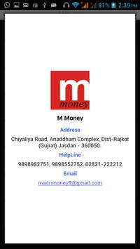 M Money apk screenshot