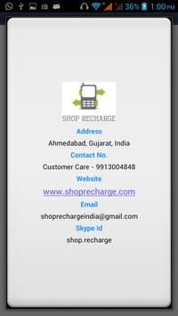 SHOP RECHARGE apk screenshot