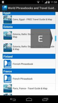 World Phrasebooks & Guides apk screenshot