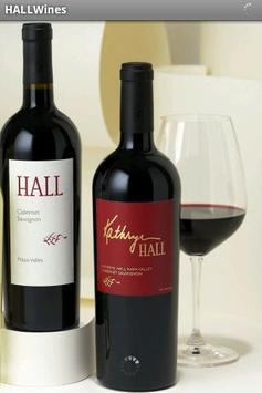 HALL Wines Art App poster