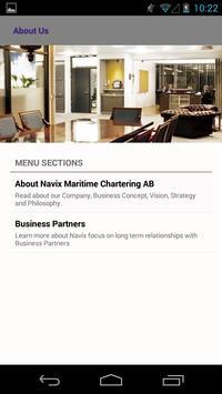 Navix Maritime Chartering AB apk screenshot