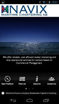 Navix Maritime Chartering AB poster