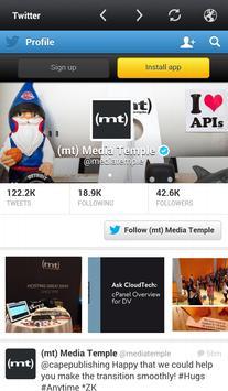 (mt) Media Temple Community apk screenshot