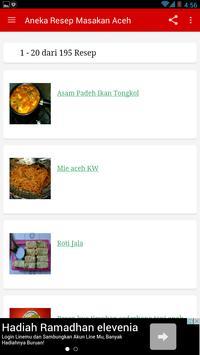 Resep Masakan Aceh Lengkap poster