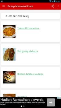 Resep Masakan Korea Lengkap apk screenshot