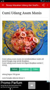Resep Masakan Udang Lengkap apk screenshot