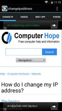 Change IP Address poster