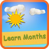 Learn Months With Fun icon