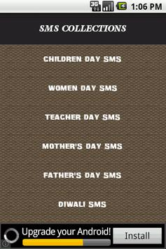 50000+ Days SMS Collections poster