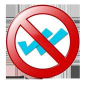 Oculta doble check en whatsapp icon