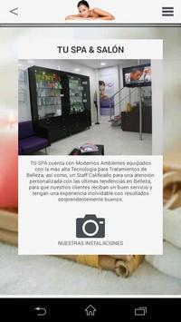 TU SPA PERU apk screenshot