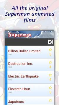 Superman's animated films MP4 poster
