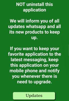 Last updates for WhatsApp apk screenshot
