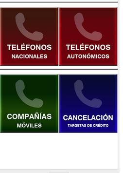 Números de emergencia España apk screenshot