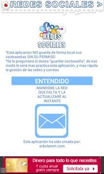 Redes Sociales Correos poster