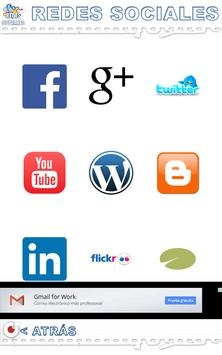 Redes Sociales Correos apk screenshot