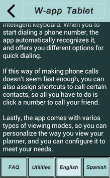 Wapp for tablet apk screenshot