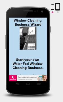 Window Cleaner Business Wizard poster