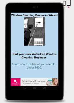 Window Cleaner Business Wizard apk screenshot
