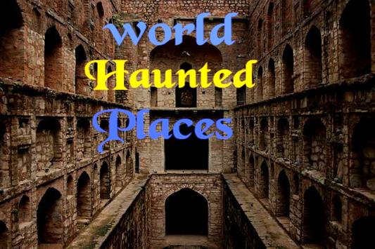 World haunted places apk screenshot