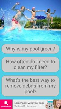 Swimming Pool Solutions poster