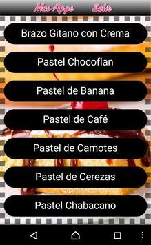 Recetas de Pasteles apk screenshot