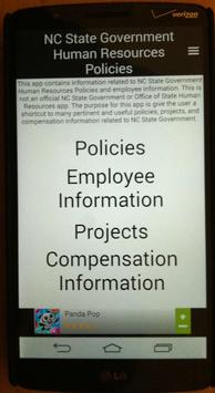 Human Resources Policies poster