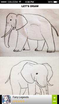 How to Draw Elephant poster