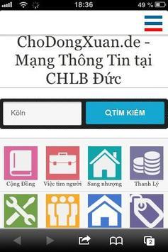 ChoDongXuan poster