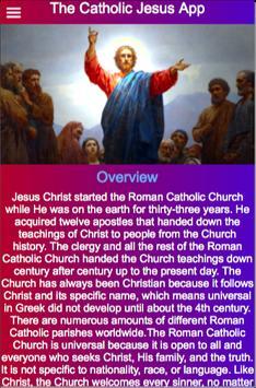 The Catholic Jesus App poster