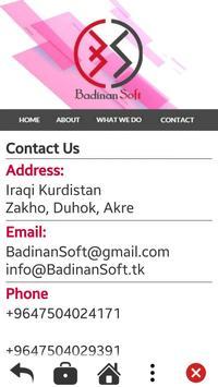 Badinan Soft apk screenshot