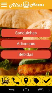 Altas Horas Lanches apk screenshot