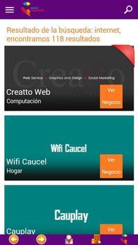 Caucel Negocios apk screenshot